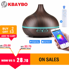 550ml Air Humidifier Essential Oil Diffuser Aroma Lamp Aromatherapy Electric Aroma Diffuser Mist Maker Smart APP Remote Control xiaomi original smartmi humidifier for home air uv germicidal aroma essential oil data smart phone mi home app control