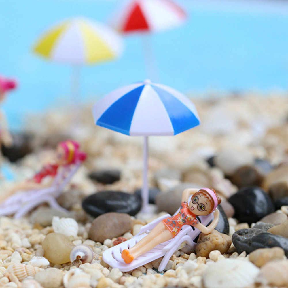 Автомобиль орнамент миниатюрный зонтик DIY Craft аксессуар для дома и сада аксессуары Прямая доставка May18