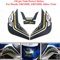 2 color For Honda CRF1000L CRF 1000L CRF1000 L Africa Twin 2014 2019 Motorcycle Tank Pad Protector Sticker Fish Bone Sticker