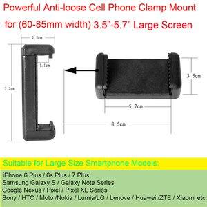 Image 5 - Fantaseal Action Kamera Hand Grip Halterung + Handy Clip für Sony AS200V AS300R FD X3000R SJCAM Getriebe 360 Stabilisator Halter