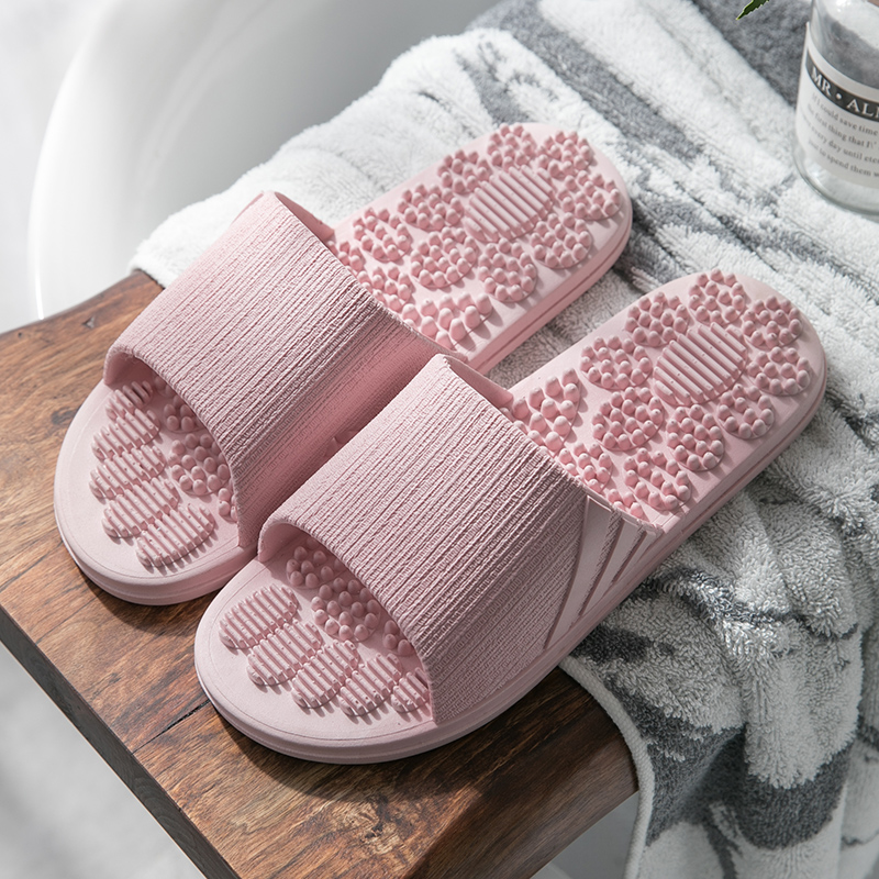 2019 TZLDN Men Women Slippers Summer Fashion Foot Massage Indoor Outdoor Flip Flops Non-slip Lady shoes Beach bathroom slipper 13