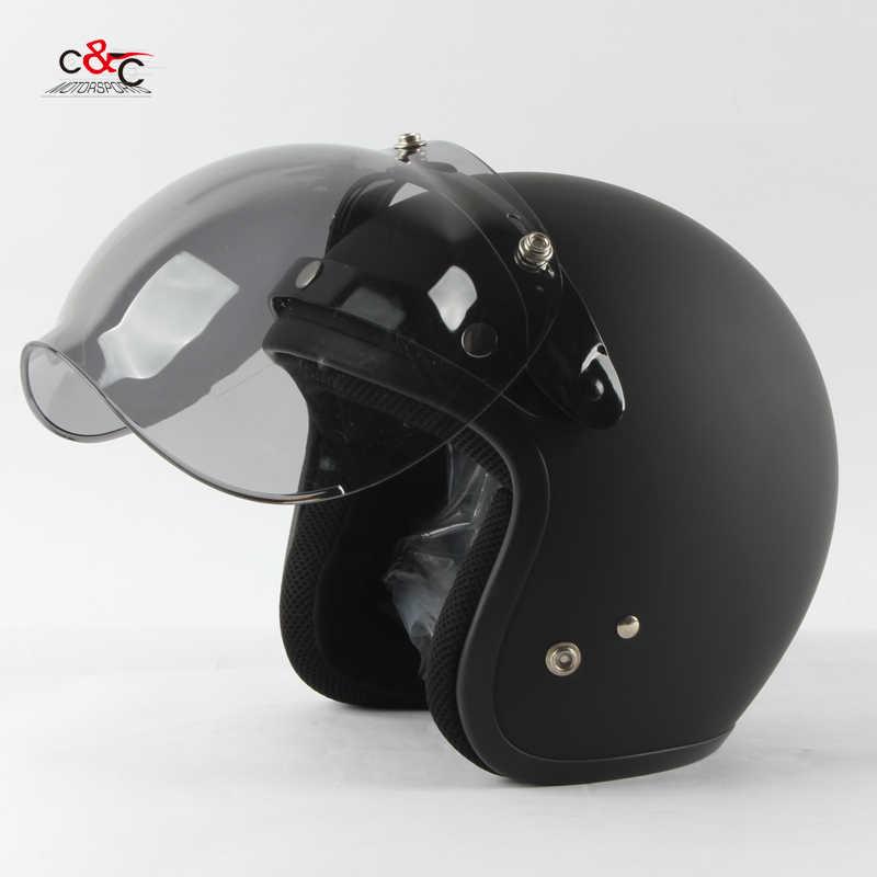 3-оснастки Винтаж мотоциклетный шлем в стиле ретро защитный смотровой щиток защитное стекло объектив ls2 beon Gxt shoei открытым лицом шлем козырек