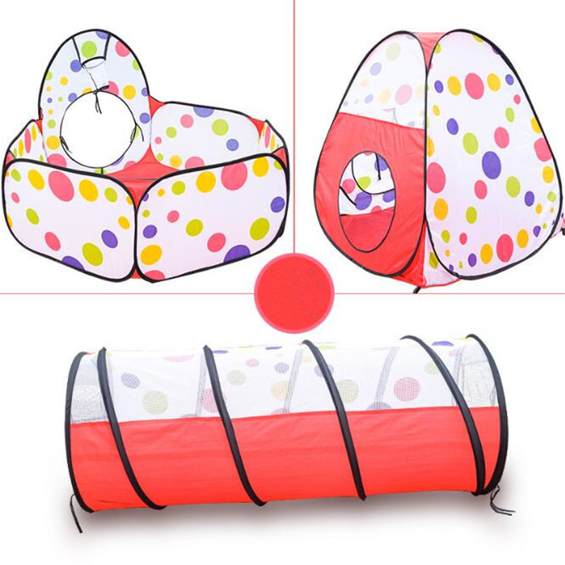 Outdoor Fun & Sports Lawn Tent Kids Play Tent Pool Children Tent Baby Educational Toys Game House Ocean Ball Pool ZB-A344-7