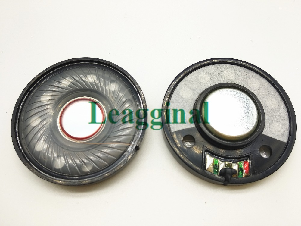 50mm headset speaker unit bass unit 32ohms 1pair=2pcs50mm headset speaker unit bass unit 32ohms 1pair=2pcs