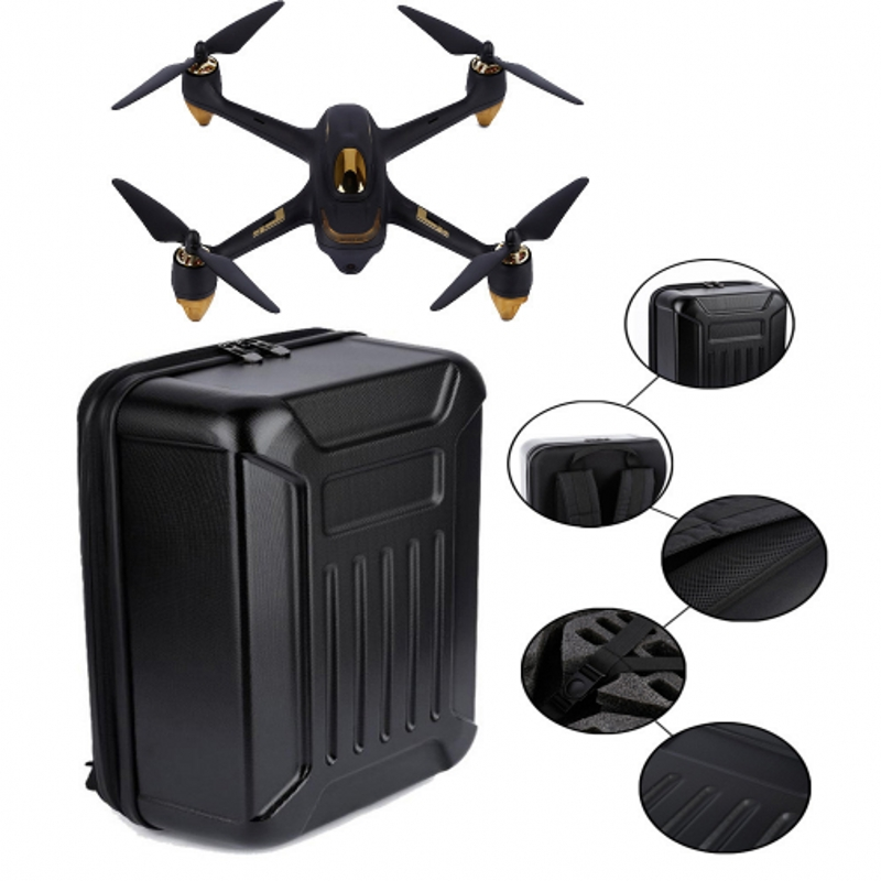 LeadingStar For Hubsan X4 H501S Bag RC Drone Portable waterproof Carry Case Backpack Hard Shell Storage Box D20 7 4v 2700mah 10c battery 1 in 3 cable usb charger set for hubsan h501s h501c x4 rc quadcopter