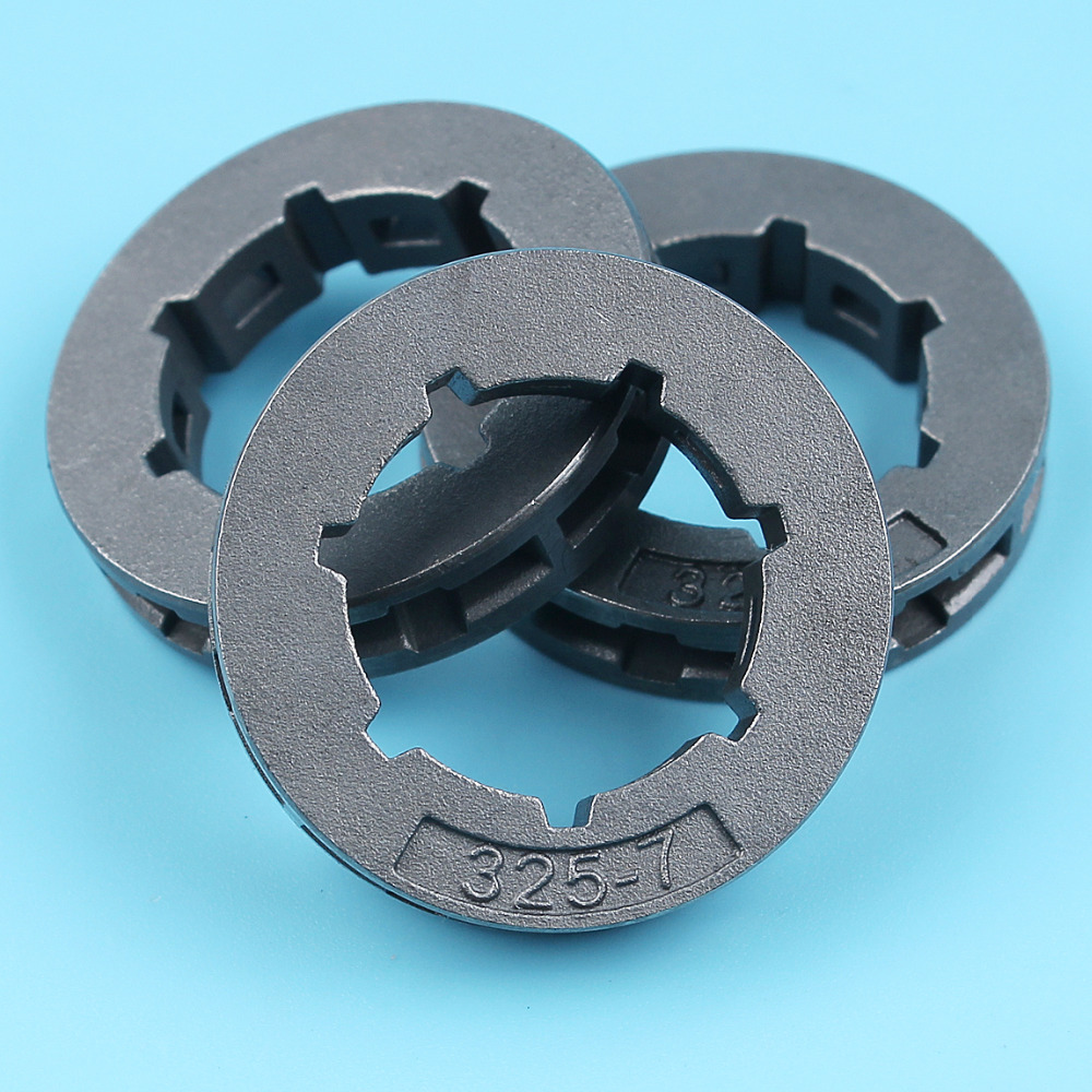 3Pcs .325 7T Sprocket Rim For Stihl 017 018 024 026 MS260 MS261 039 034 036 MS250 MS260 MS290 MS390 MS310 MS270 MS280 Chainsaw