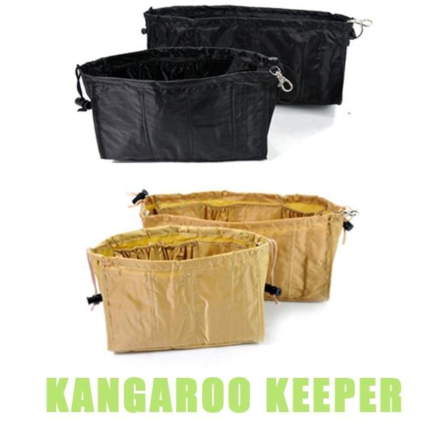 Free Shipping Kangaroo Keeper Storage Bag AS SEEN ON TV Purse Handbag Organizers 2 Color Choose #1357