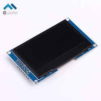 Blue Color 2 42 2 42inch OLED Display Module 128x64 SPI Communicate For Arduino C51 STM32