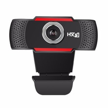 USB HD Webcam 720P Rotatable PC Computer Camera Video Calling and Recording with Noise-canceling Mic Clip Web for Laptop