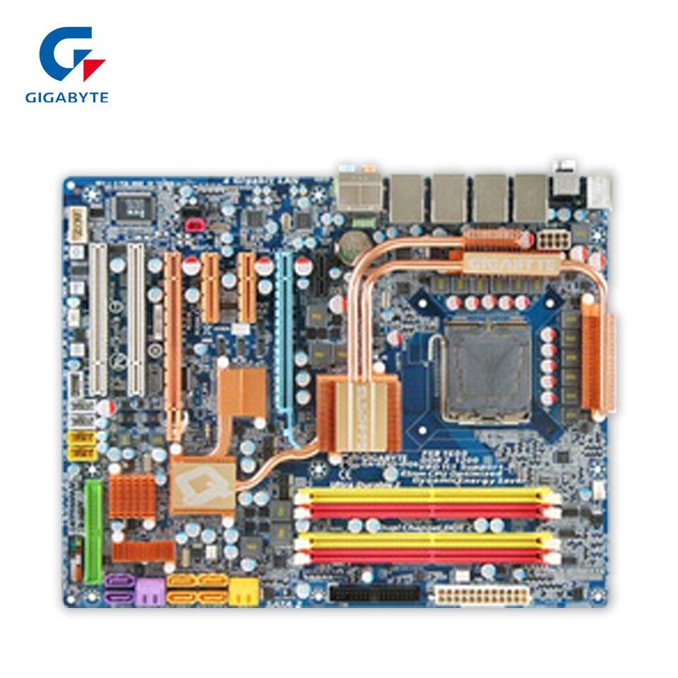 Gigabyte GA-EP45-DQ6 Desktop Motherboard EP45-DQ6 P45 LGA 775 DDR3 16G SATA2 USB2.0 ATX gigabyte ga ep45 ud3l original used desktop motherboard ep45 ud3l p45 lga 775 ddr2 16g sata2 usb2 0 atx