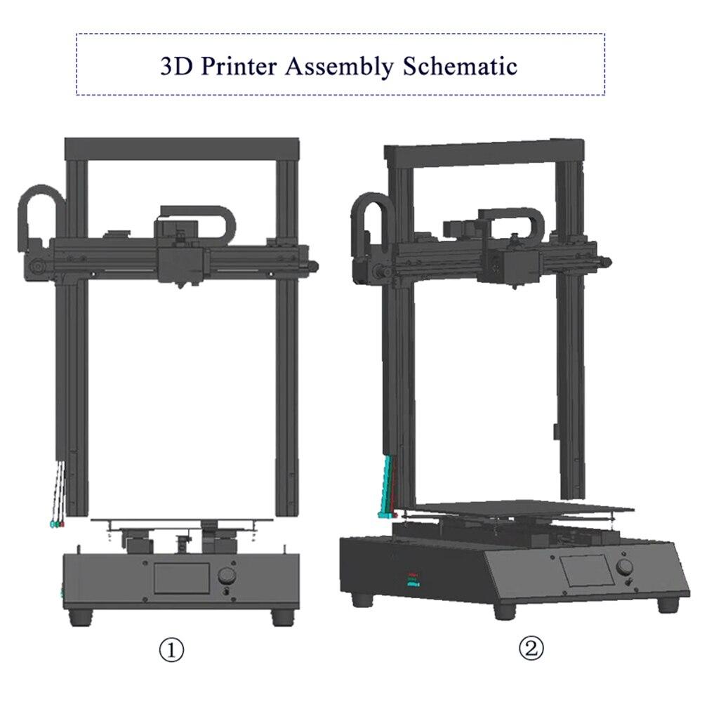 High Speed 3d Printers Machine Ortur4 Impresora 3d Resume Printing Imprimante 3d Hotbed Autoleveling& Calibration 3d Printer FDM 4