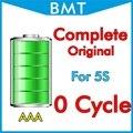 10 pçs/lote completa genuína original 0 zero ciclo 1560 mah 3.7 v bateria para iphone 5s substituição bmti5s0btaaa