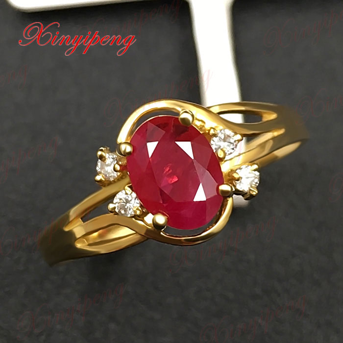 Custom Burma Ruby Ring: 18 K Gold, Platinum Burma Natural Ruby Ring Women To Quit