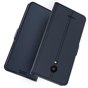 Image 1 - Funda de cuero de lujo para Meizu C9 Note 9, funda con soporte y imán Delgado a prueba de golpes para Meizu C9 Pro 16 th 16 T