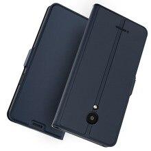 Para meizu c9 nota 9 caso luxo couro flip kickstand carteira ímã fino à prova de choque capa para meizu c9 pro 16 th 16 t caso cartão