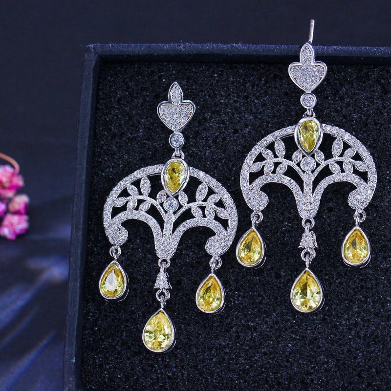 Vintage dangle earrings2
