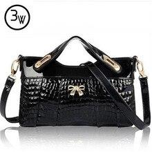 3 Watt Designer Handtaschen Frauen Leder Tasche Für Frauen Partei Abend Messenger Leder Handtasche Reißverschluss Bolsa Feminina