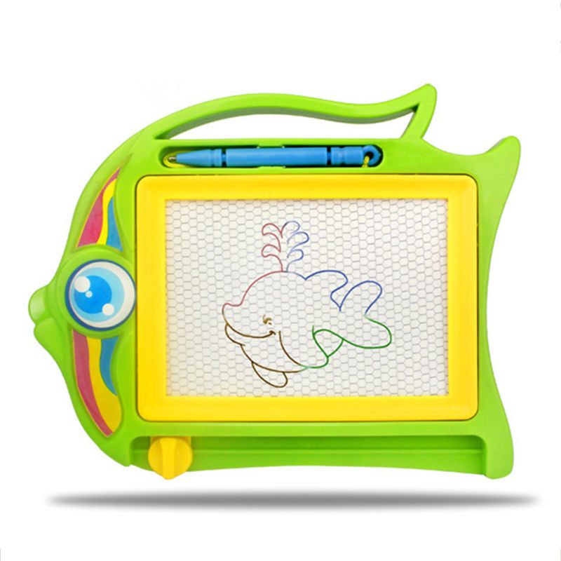New Cartoon Elephant Fish Color Magnetic Sketchpad Children's Intelligence Toys