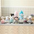 50-70 cm lucky boy sunday kids toys dinamarca marca tejido a mano gran conejo de dibujos animados suave relleno toys