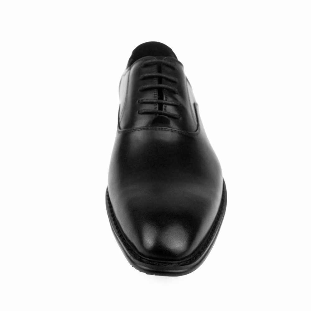 Venda de afastamento Dos Homens Oxford Sapatos Sapatas de Vestido de Marca Do Vintage Genuínos Homens de Couro Sapatos Casuais Sapatos Masculinos de Negócios Sapatos de Casamento Plus Size
