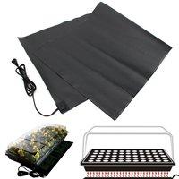 Large Black Waterproof Seedling Heat Mat Plant Seed Germination Propagation Cloning Starting Accessories Garden Tools Supplies