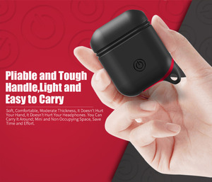 Image 5 - Waterproof Earphone Case For Airpods Shockproof Protective Cover Headset Cases For AirPods Case Cute fluorescence TPU Silicone