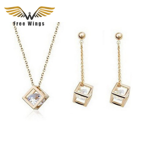 For Wings Necklaces Earrings