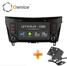 Ownice C500 4G SIM LTE Android 6.0 Quad Core Car DVD GPS for Nissan Qashqai X-Trail 2014 wifi 1024*600 2GB RAM 16GB ROM 1024*600