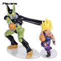 Dragon Ball Z Cell & Son Gohan PVC Figures Collection Toys 2pcs/set