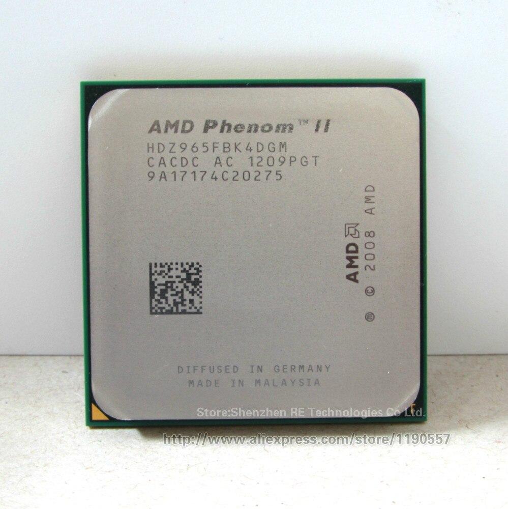 Prix pour AMD Phenom II X4 965 Processeur (3.4 GHz/6 MB L3 Cache/Socket AM3) Quad-Core morceaux épars cpu