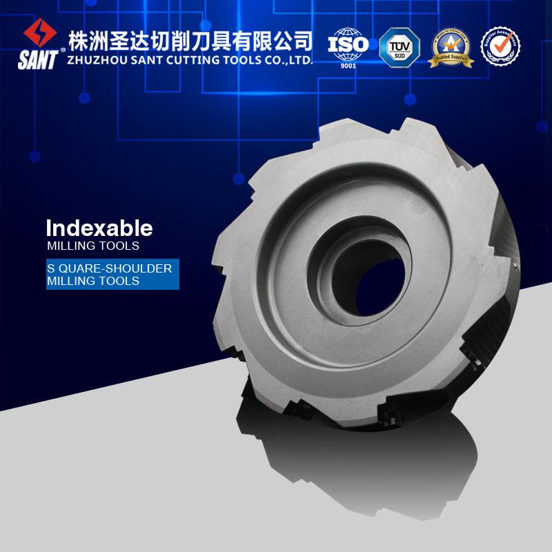 Manufacturer specialized in square-shoulder milling cutter EMP02-160-B40-AP16-10  цены