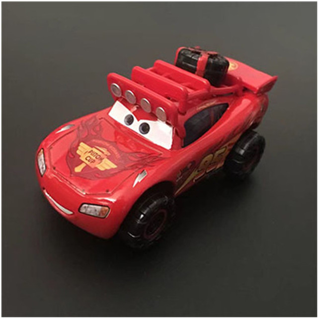 Disney Pixar Cars New Lighting McQueen SUV Diecast Metal Alloy Toys Christmas Gift Toys For Kids & Disney Pixar Cars New Lighting McQueen SUV Diecast Metal Alloy Toys ...