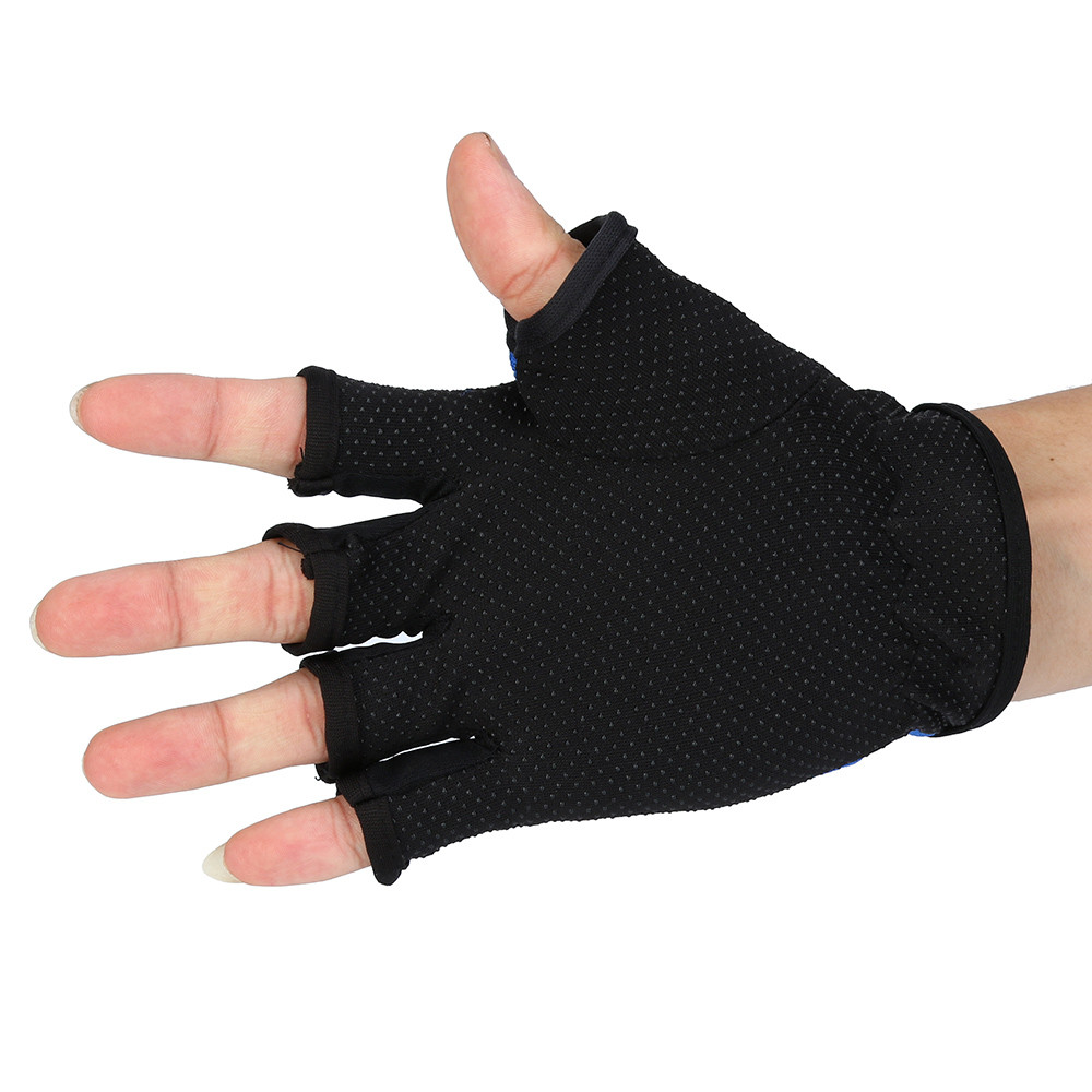 Men Breathable Fishing Anti Slip Sailboat Sailing Autumn Winter Fingerless Glove