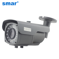 CCTV Focusing Metal Waterproof IP66 720P AHD Camera 1080P Sony IMX322 HD 2.8 12mm 4X Zoom Manual Lens Surveillance Bullet Camera