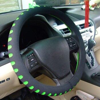 De alta calidad de EVA Universal protector para volante de coche diámetro 38cm coche automotriz cubre 4 colores con más estilo de coche al por mayor