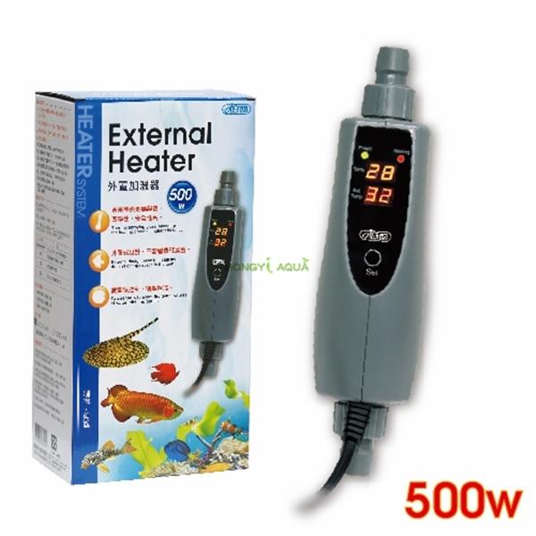1 piece ISTA 150W 300W 500W aquarium external heater fish tank warmer liquid crystal digital display aquarium supplies