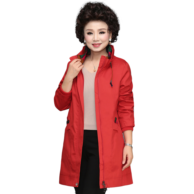 Fashion Windbreaker Coat 2019 New Spring Autumn Coat Women Long Sleeve Trench Coats Loose Casual Ladies Outerwear Plus size L279