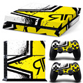PS4 Color Stickers  a Variety of Styles  Matte PVC Material  Waterproof / Scratch Resistant / Collision Avoidance