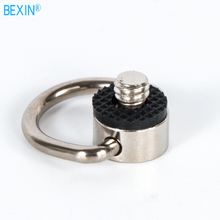 Dslr 1/4 strap screw d ring camera mount inch iron quick release plate adapter for the