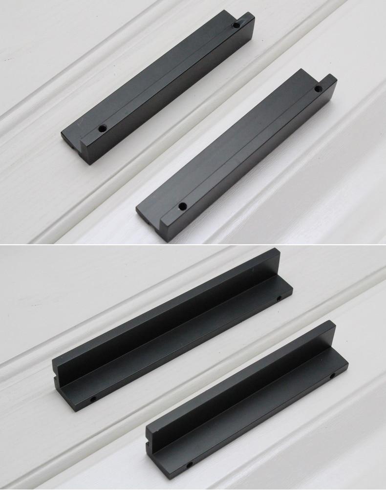 5 39 39 dresser poign es de tiroir poign es de meubles noir cristal poign es de l 39 espace de trou. Black Bedroom Furniture Sets. Home Design Ideas