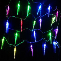 Luminaria 10M 100 LED String Light Lamp Garland Christmas Icicle Christmas Tree Garland Exterior Decoration Wedding
