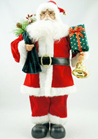 Cosette Classic New Standing Pose Handmade Santa Claus Home Collection Decoration Gifts 18