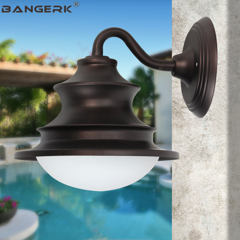 Simple Outdoor Modern Wall Lamp Courtyard Waterproof LED Porch Lights Sconce Wall lamps Garden Balcony Home Decor LightingSimple Outdoor Modern Wall Lamp Courtyard Waterproof LED Porch Lights Sconce Wall lamps Garden Balcony Home Decor Lighting