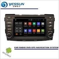 YESSUN Wince/мультимедиа для Android навигационная система для hyundai Sonata NFC 2009 ~ 2010/CD DVD gps плеер навигационное Радио стерео
