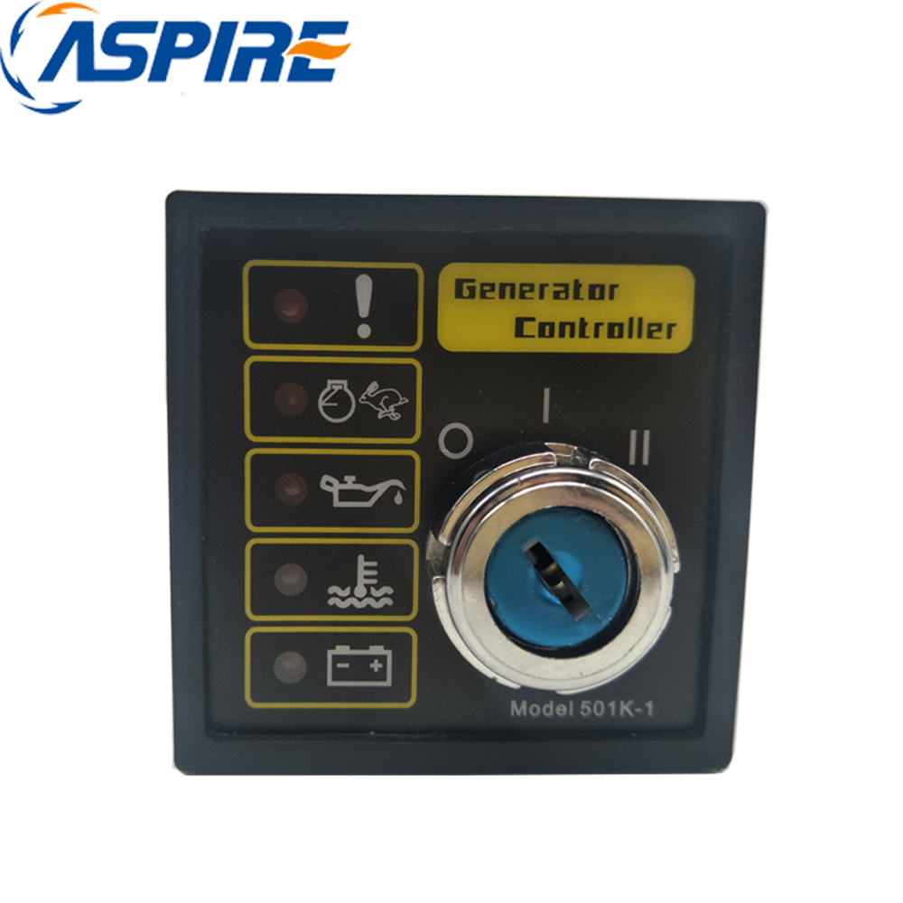 Diesel Generator Controller 501K 1, Control Panel Unit 501K Compatible with Original DSE 501K-1Diesel Generator Controller 501K 1, Control Panel Unit 501K Compatible with Original DSE 501K-1