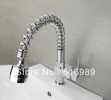 Pull Out Кухонный кран Меди для холодной и горячей воды кран Раковины faucetVegetable стиральная бассейна 360 градусов вращающийся кран sam89