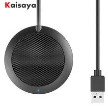 USB Kondenser Mikrofon Masaüstü Çok Yönlü Mikrofon 360 Derece Taşınabilir Mini Bilgisayar Masaüstü Hoparlörler Mikrofon Aksesuarları