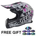 Nuevo diseño de la manera Casco Off-Road motocross Downhill casco profesional casco de moto Dirt Bike Rally racing capacete