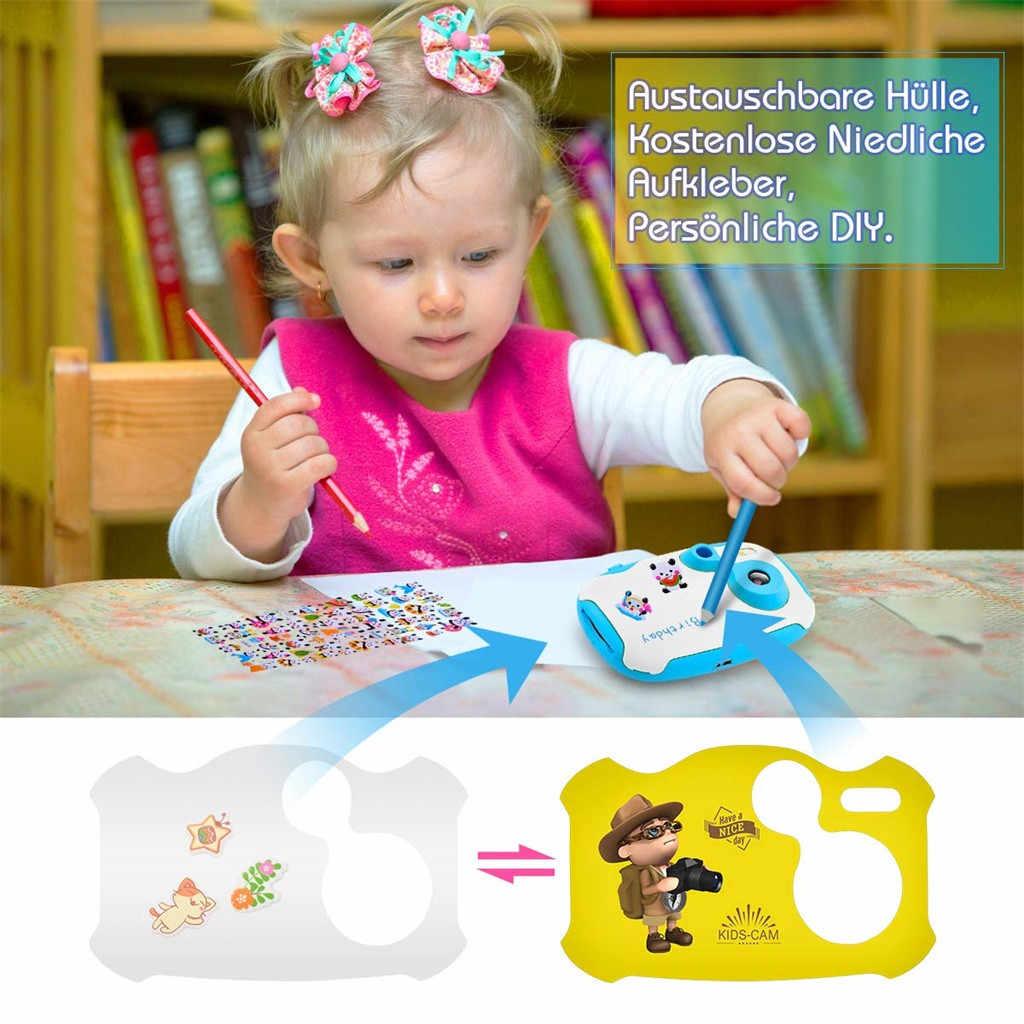 2019 Новый цифровой HD детский 1,7 дюймов камера видео рекордер подарок DV DVR Cam видеокамера DIY Детская камера подарок на день рождения