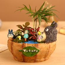 Kawaii Cartoon Adorable Cute Chinchilla Bathtub Design Plant Flower Pot Succulent Planter